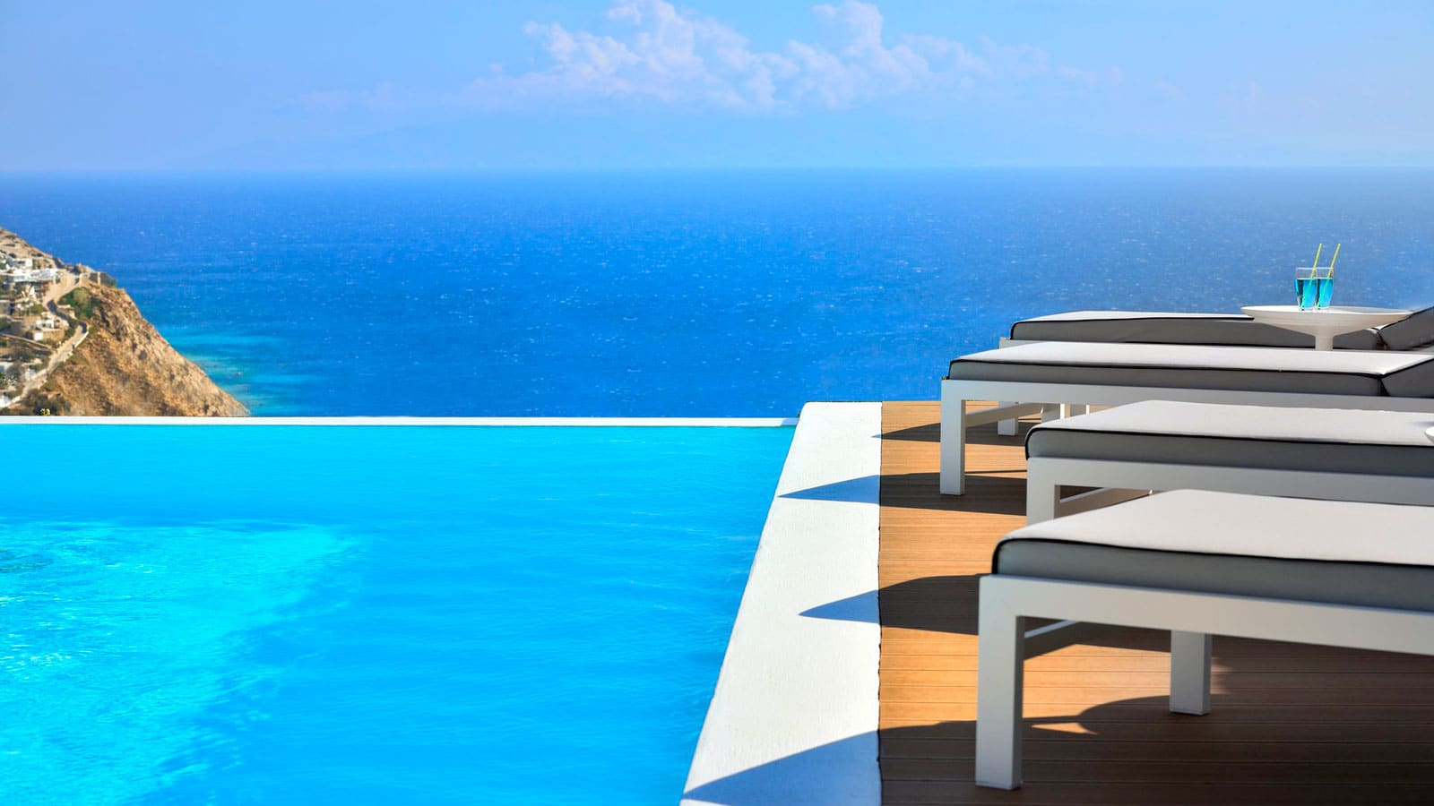 Mykonos villa with private pool for rent